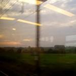 Dans le train entre ici et Bruxelles