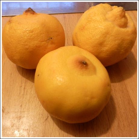 Citrons bergamote