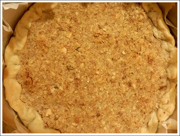 Fond de tarte cuit