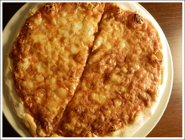 Pizza franprix bio