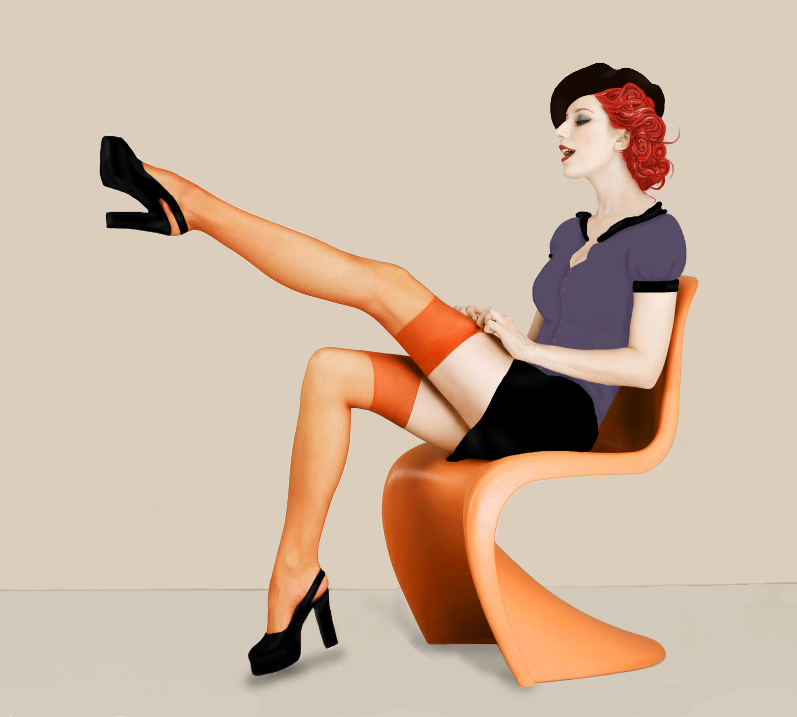 Pin up modifiée