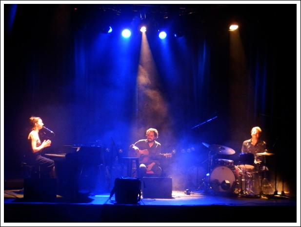 Jeanne Plante aux Trois Baudets, 30 mars 2012