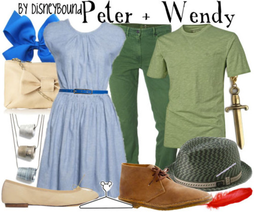 Peter + Wendy by DisneyBound