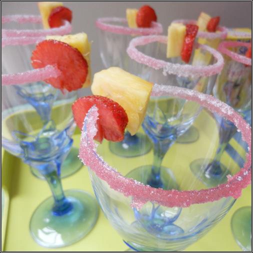 Verres à cocktail fête des mères