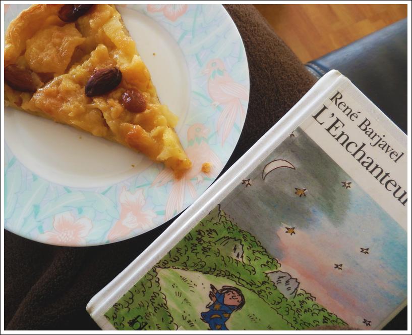 L'enchanteur et sa tarte aux pommes amandes