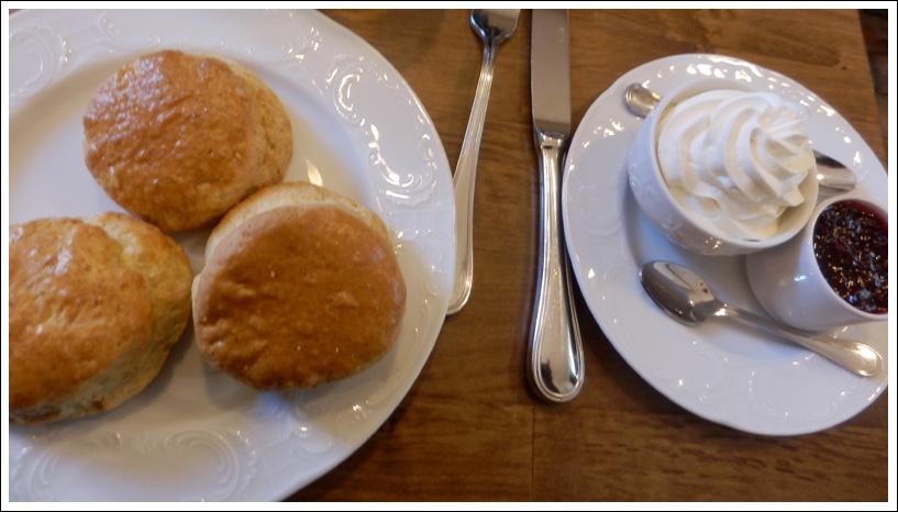 Scones tout chauds chez Tea Thé Tcha, Paris 13ème