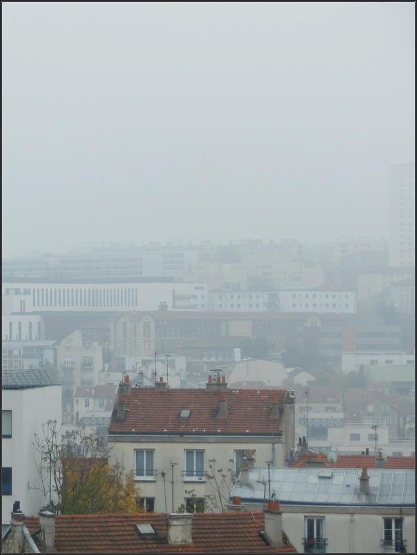 Brouillard francilien