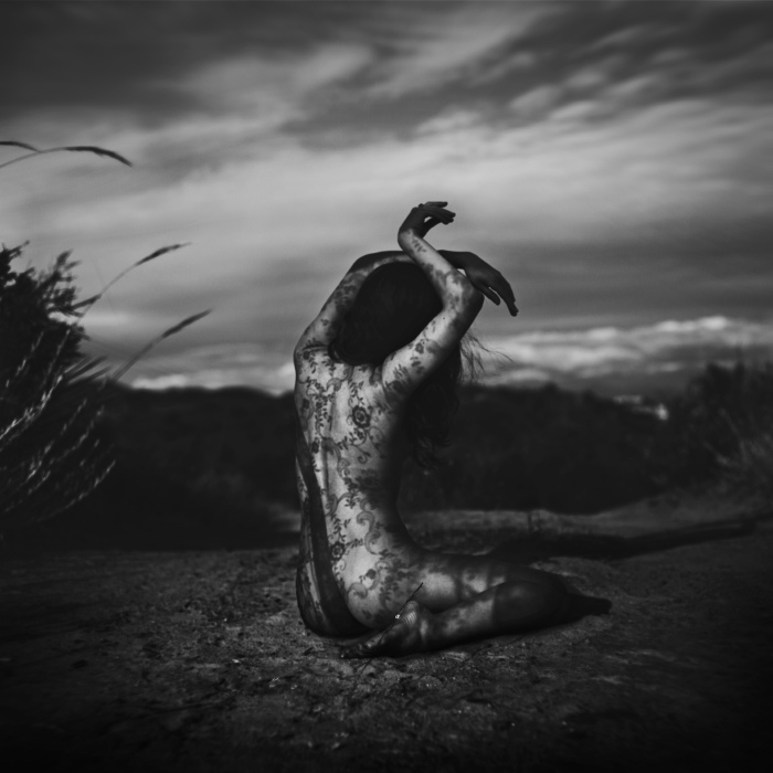 """""""The facade of wilting flowers"""" by Brooke Shaden"""