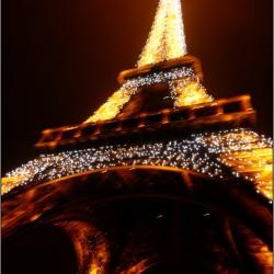 Tour Eiffel éclairée