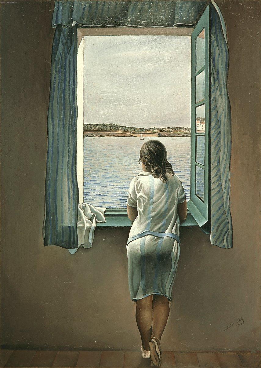 Salvador Dali - Personnage à la fenêtre