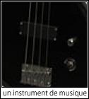 une guitare basse